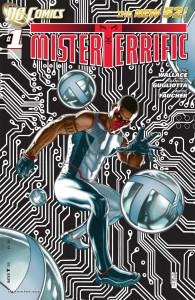 Mister Terrific #1 Cover