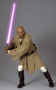 Samuel L. Jackson as Mace Windu