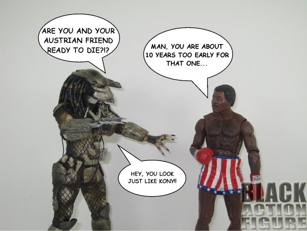 Predator vs. Apollo Creed