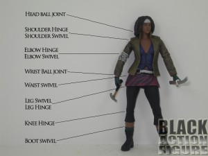 Michonne Articulation