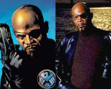 Ultimate Nick Fury & Samuel Jackson as Nick Fury