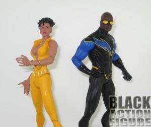 Vixen and Black Lightning