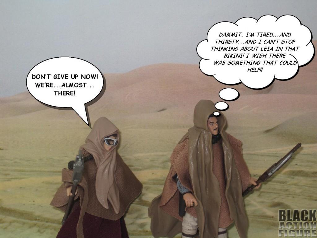 Lando in the Desert 1