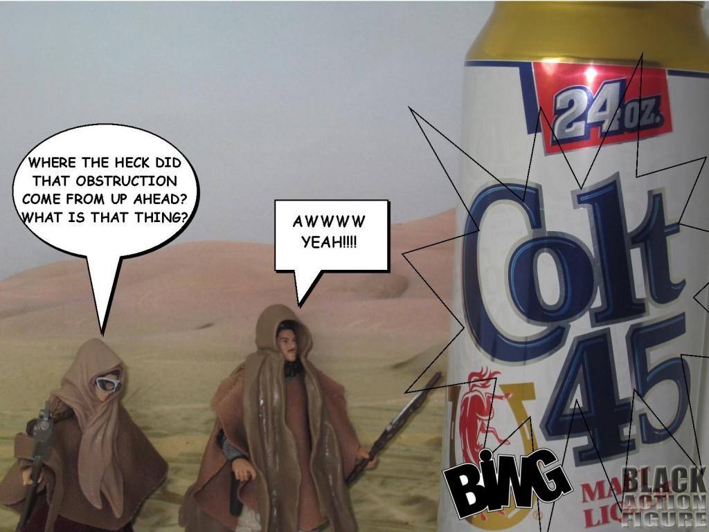 Lando in the Desert 2