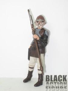 Lando in Skiff Guard Disguise