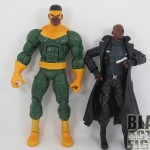 Thunderball height comparison with Nick Fury