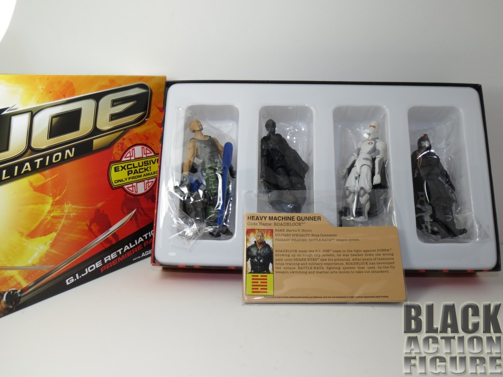 GI Joe Inside the box