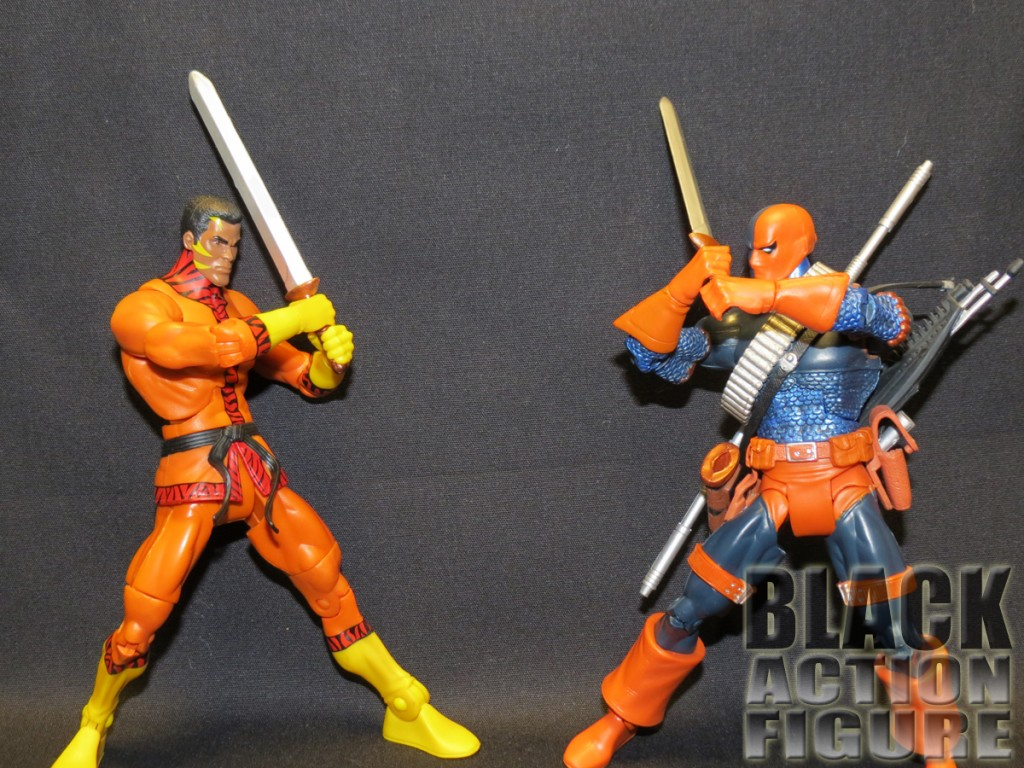 Bronze Tiger vs. Deathstroke