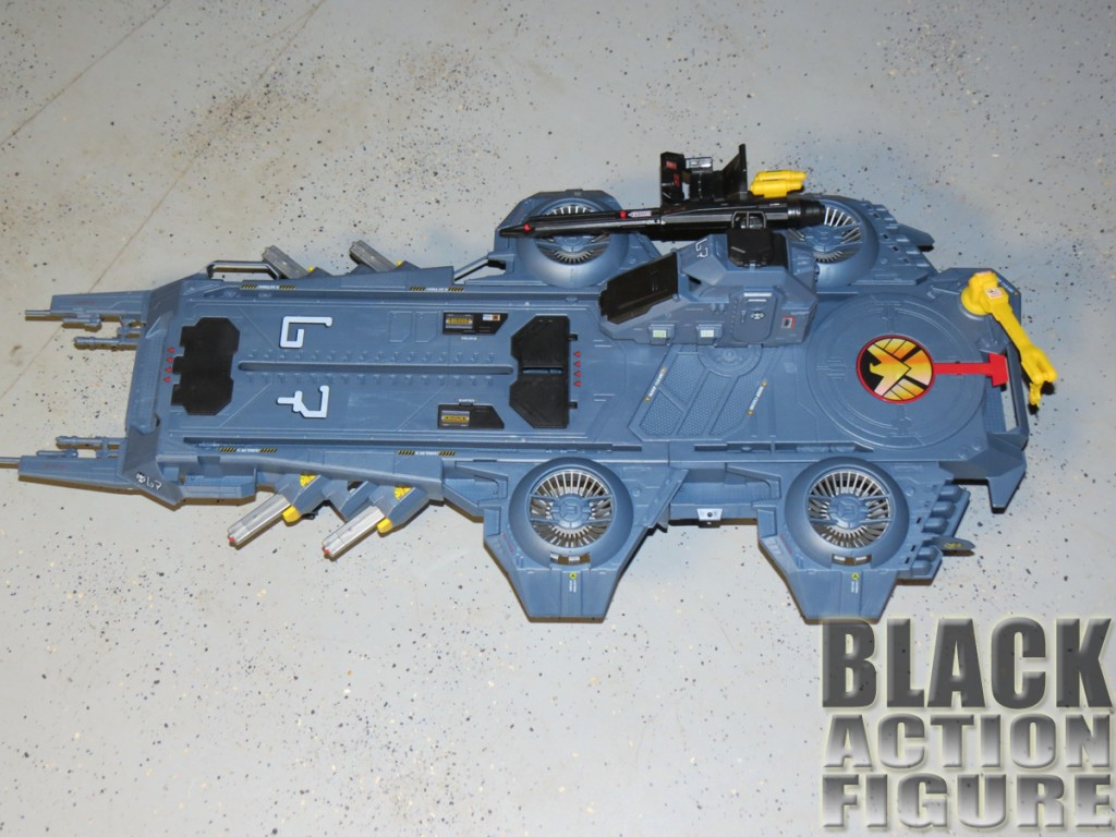 Helicarrier with decals applied