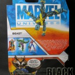 Marvel Universe Beast Back of Package