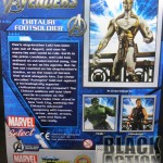 Marvel Select Chitauri Back of Package