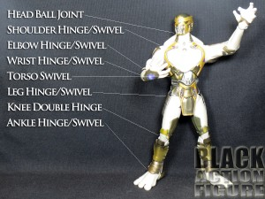 Marvel Select Chitauri Articulation