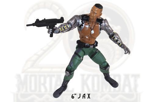 """Jazwares Mortal Kombat 6"""" Jax"""