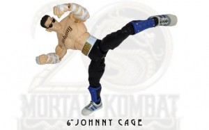 "Jazwares Mortal Kombat 6"" Johnny Cage"