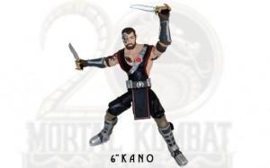 """Jazwares Mortal Kombat 6"""" Kano"""