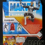 Marvel Universe Punisher Back of Package