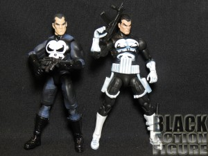 Marvel Universe Punisher Comparison