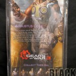 Gears of War Augustus Cole Back of Package