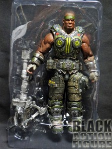Gears of War Cole out of Packaging