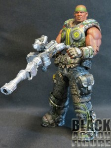 "Gears of War Cole with ""One-Shot"" Weapon"