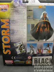 Marve Select Storm Back of Package