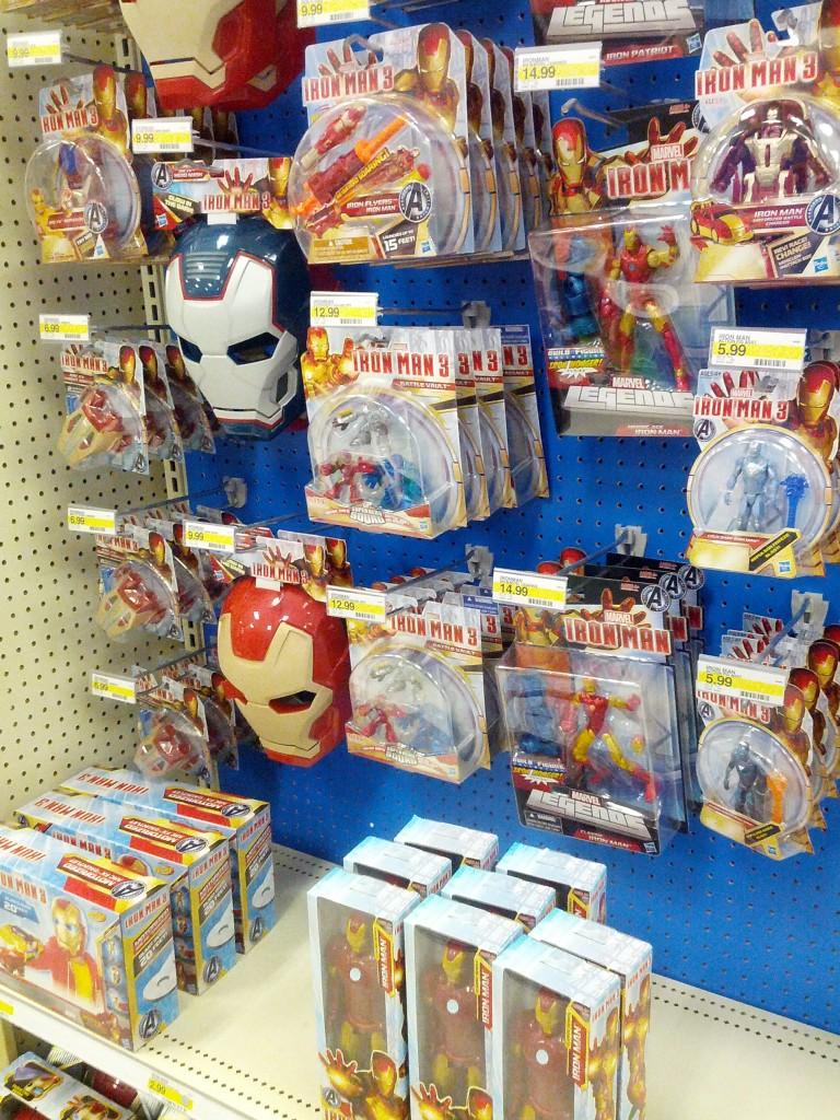 Iron Man 3 Toys at Target