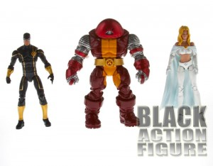 Marvel Universe X-Men 3pack - Cyclops, Colossus-Juggernaut, Emma Frost