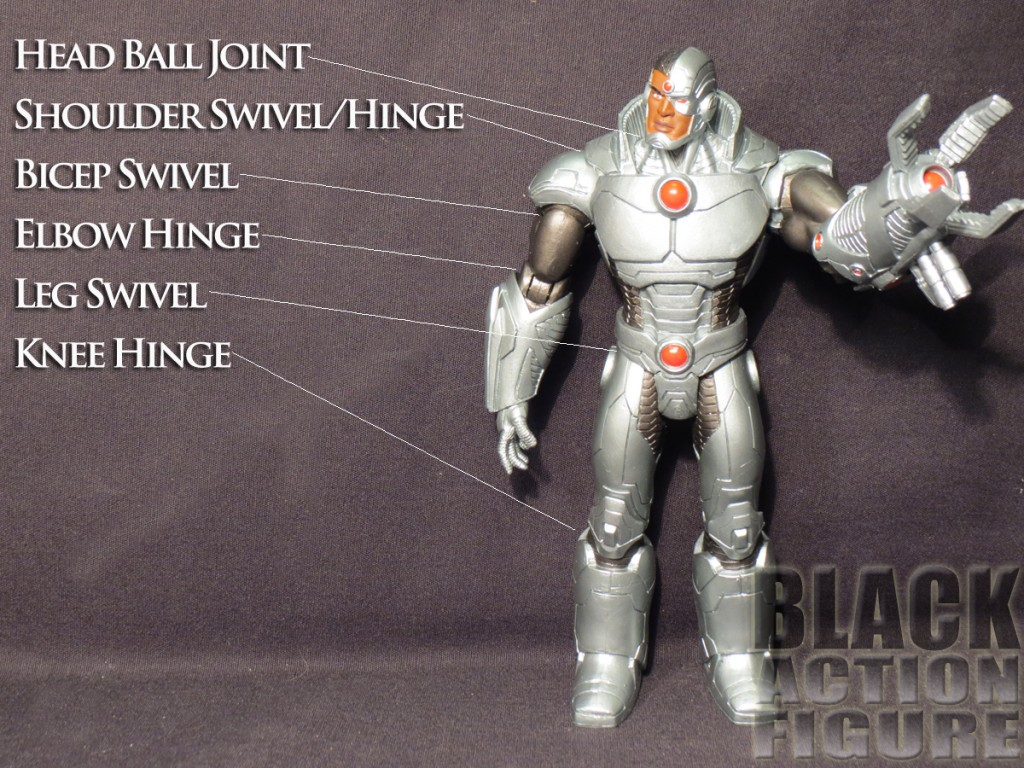 New 52 Cyborg Articulation