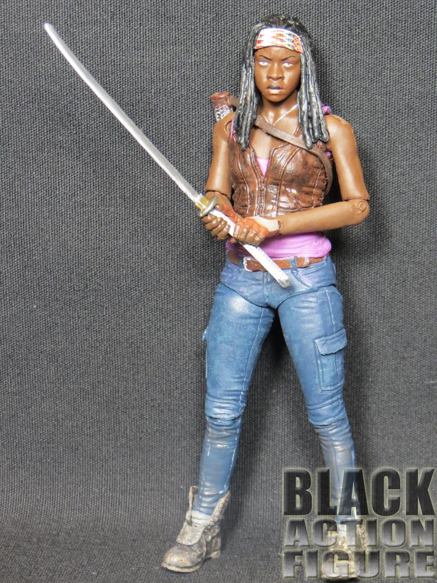 Amazon.com: McFarlane Toys The Walking Dead TV Series 7 Michonne ...