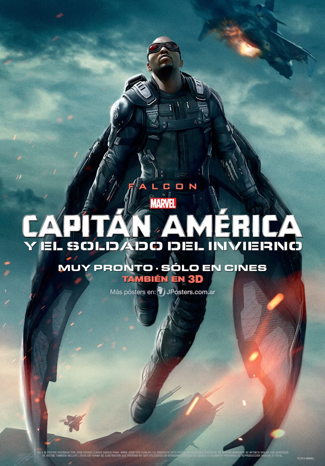 new movie poster for captain america 2 the winter soldier. Black Bedroom Furniture Sets. Home Design Ideas