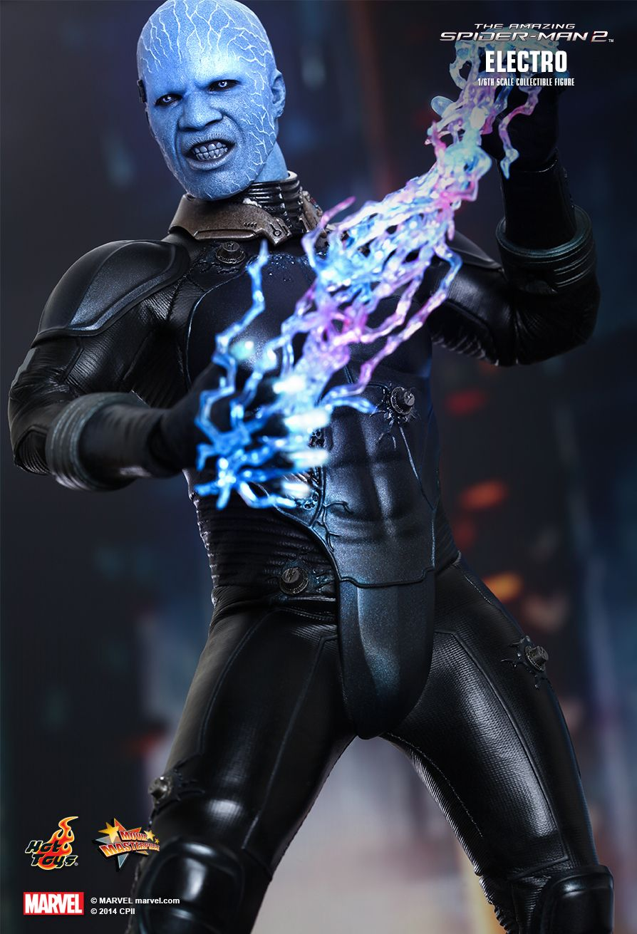 Preview Hot Toys Electro From The Amazing Spider Man 2