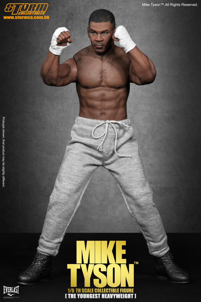 preview storm collectibles 16th scale mike tyson
