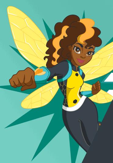 review  dc super hero girls bumblebee