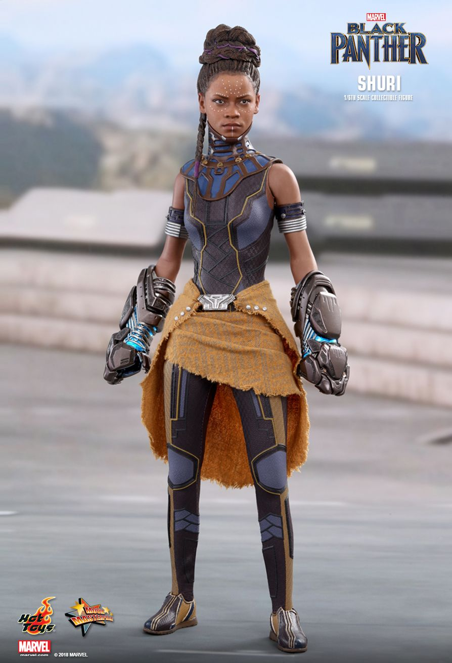 Preview Hot Toys 1 6 Scale Shuri and Wakanda Throne From