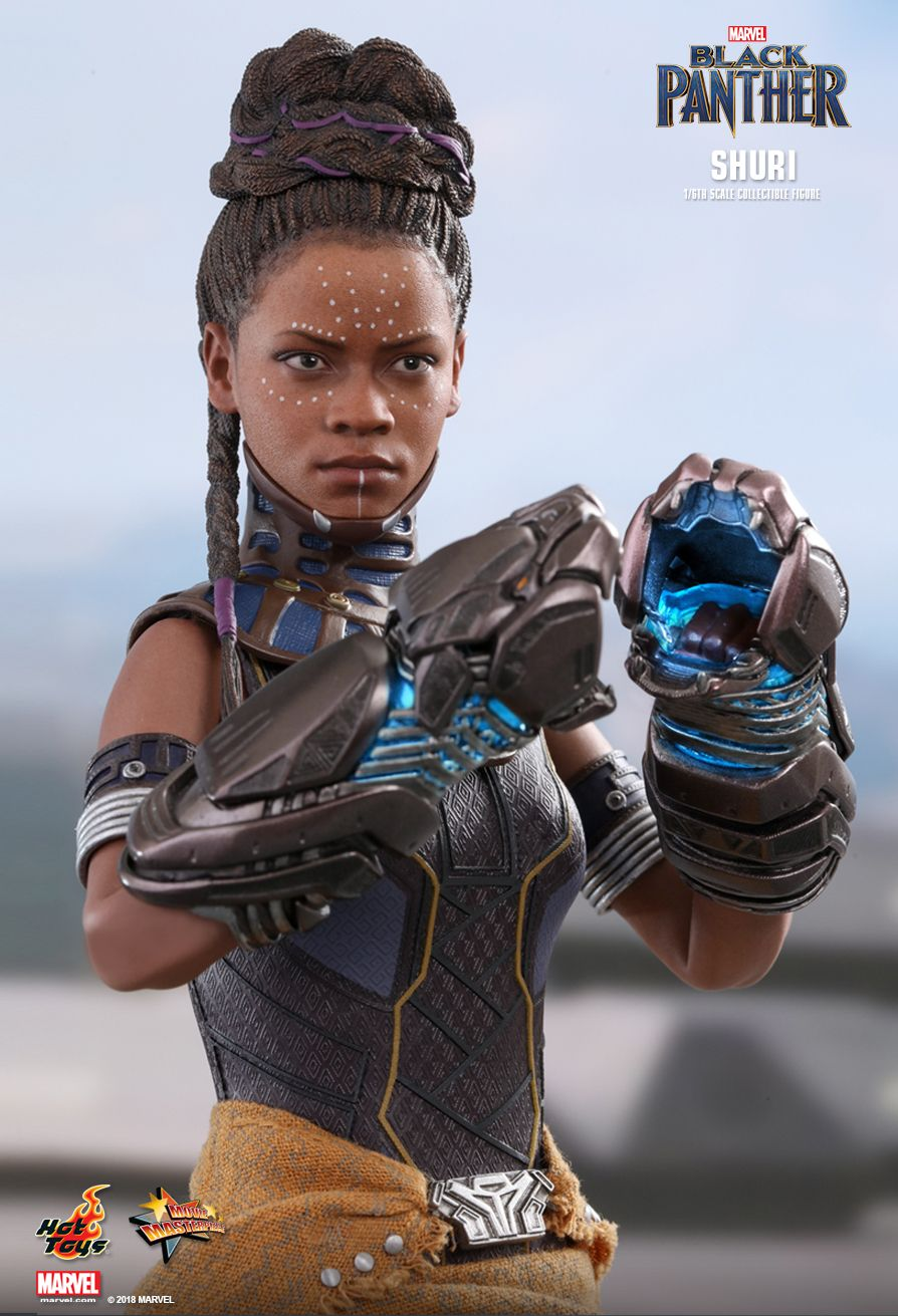 """hasbro_Preview: Hot Toys 1/6 Scale Shuri and Wakanda Throne (From """"Black Panther"""")"""