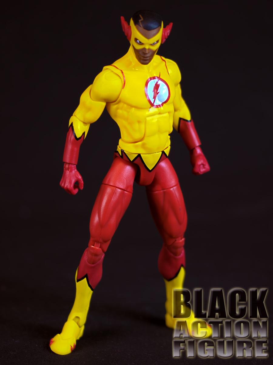 Review Dc Comics Multiverse 6 Kid Flash Comic Book Version